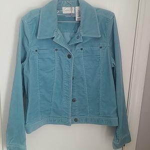 Liz Claiborne blue denim jacket
